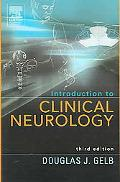 Introduction to Clinical Neurology, 3e