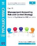 Management Accounting Risk and Control Strategy