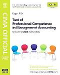 Test of Professional Competence in Management Accounting