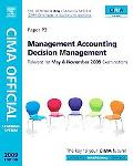 CIMA Official Learning System Management Accounting Decision Management