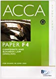 ACCA - F4 Corporate and Business Law (For June 08 Exams): Study Text