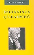 Beginnings of Learning