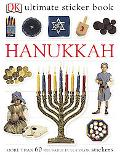 Hanukkah more than 60 reusable Full-color stickers