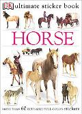 Horse More than 60 reusable full-color stickers