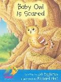 Baby Owl Is Scared