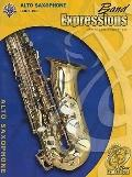 Band Expressions : Alto Saxophone, Book 1 - with CD - Robert W. Smith - Paperback