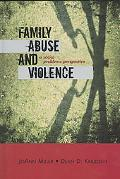 Family Abuse And Violence A Social Problems Perspective