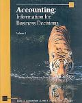 Accounting: Information for Business Decisions: Volume 1