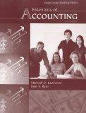 Essentials of Accounting Study Guide/Working Papers