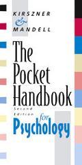 Pockt Handbook for Psychology With Infotrac