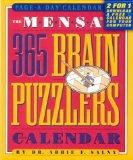 Mensa 365 Brain Puzzlers Page a Day Calendar: 2001