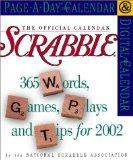 The Official Scrabble Page-A-Day Calendar 2002