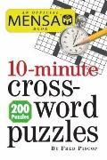 Mensa 10-Minute Crossword Puzzles