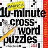 Mensa 10-Minute Crossword Puzzles 2015 Page-A-Day Calendar