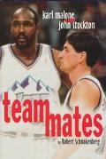 Teammates Karl Malone and John Stockton