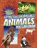Extinct and Endangered Animals You Can Draw (Ready, Set, Draw!)