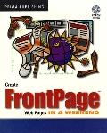 Create Front-Page Web Pages in a Weekend