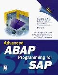 Advanced Abap/4 Programming-w/cd