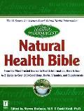 Natural Pharmacist: Natural Health Bible - Steven Bratman - Paperback