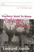 What Teachers Need to Know About Their Students' Religious Beliefs