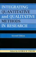 Integrating Quantitative And Qualitative Methods in Research