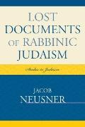 Lost Documents of Rabbinic Judpb