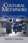 Cultural Metaphors Readings, Research Translations, and Commentary