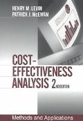 Cost-Effectiveness Analysis Methods and Applications