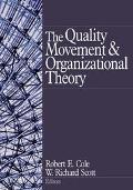 Quality Movement and Organizational Theory