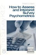 How to Access and Interpret Survey Psychometrics