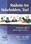 Students Are Stakeholders, Too