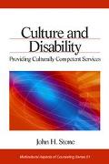 Culture and Disability Providing Culturally Competent Services