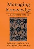 Managing Knowledge An Essential Reader