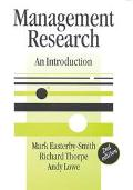 Management Research An Introduction