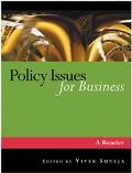 Policy Issues for Business A Reader