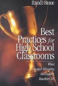 Best Practices for High School Classrooms What Award-Winning Secondary Teachers Do