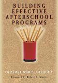 Building Effective After-School Programs