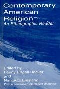 Contemporary American Religion An Ethnographic Reader