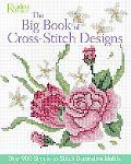 Big Book of Cross-Stitch Design Over 900 Simple-to-Stitch Decorative Motifs