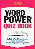 Reader's Digest Pocket Guide Word Power Quiz Book