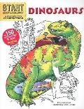 Start Exploring: Dinosaurs : A Fact-Filled Coloring Book