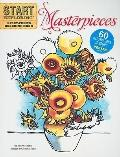 Start Exploring: Masterpieces : A Fact-Filled Coloring Book