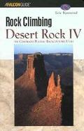 Rock Climbing Desert Rock IV The Colorado Plateau Backcountry  Utah