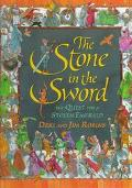 The Stone in the Sword: The Quest for a Stolen Emerald - Deri Robins