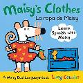 Maisy's Clothes Dual Language (Spanish Edition)