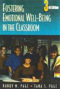 Fostering Emotional Well-Being in the Classroom