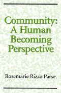 Community A Human Becoming Perspective
