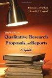 Qualitative Research Proposals And Reports: A Guide (National League for Nursing Series (All...