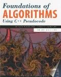 Foundations of Algorithms using C++ Pseudocode, Third Edition