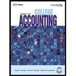 College Accounting, Chapters 1-28